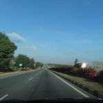 NH4 between Bangalore and Hiritur