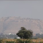 Bellary fort shrouded in smog